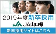 JA山口県の2019年度採用情報